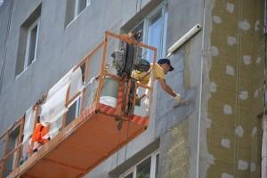 В Старом Осколе продолжается капитальный ремонт многоквартирных домов
