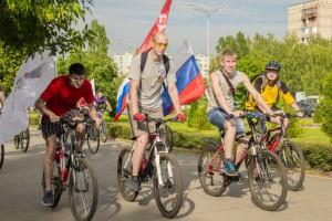 Велопробег, посвященный памяти Грецова Семена Васильевича