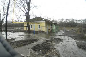 На улицу Родниковая в Потудани пришла вода, но ушло благоустойство