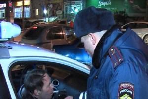 Бывший сотрудник ГИБДД задержан пьяным за рулем