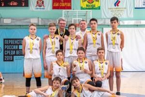 Старооскольцы стали чемпионами соревнований ЦФО по баскетболу