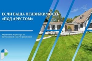 Белгородский Росреестр разъясняет: если Ваша недвижимость «под арестом»