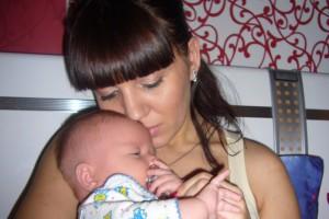 Моему сердцу -  Ярославу, 8 месяцев от роду