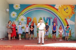 В «Радуге» прошли выборы председателя Совета лагеря