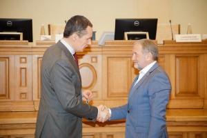 Директор по производству СГОКа удостоен премии имени Алексея Угарова