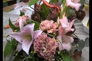 «Цветы как признание» — традиционная выставка цветочных композиций прошла в Старом Осколе