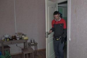 Погорельцам из села Сорокино администрация округа выделила комнату в общежитии
