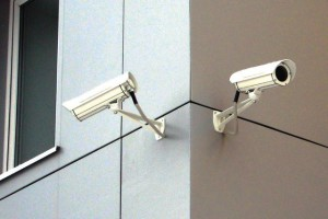 Камеры видеонаблюдения в действии