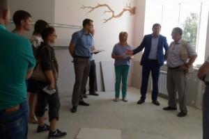 Александр Сергиенко оценил ударные темпы реконструкции Монаковской школы