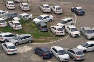 Автомобили заполонили