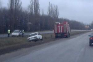Ледяной дождь на трассе Белгород-Ст.Оскол