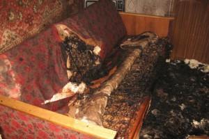 В огне едва не погиб 47-летний староосколец
