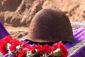 В Белгородской области перезахоронили останки советских солдат