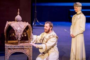 Премьера в возрождённом храме искусства: «Царь Федор Иоаннович» в старооскольском театре
