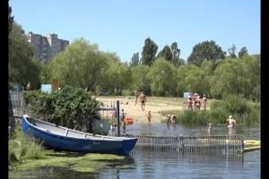 Пляж наш: в Старый Оскол пришла жара
