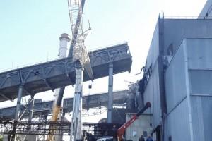 На СГОКе продолжается восстановление конвейерной галереи