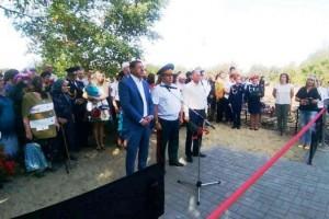 В Старооскольском городском округе открыли памятник погибшим советским воинам