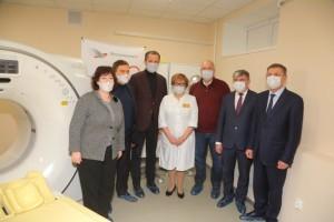 Металлоинвест приобрел томографы для губкинской и старооскольской больниц