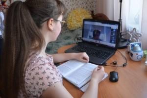 Школьники Старооскольского городского округа продолжают обучаться в дистанционном режиме