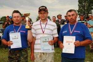 Белгородцы выиграли два турнира по рыбной ловле