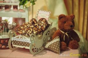 """Шоколадно-ореховый """"леденец""""."""