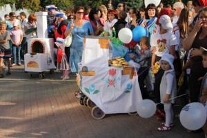 В Старом Осколе прошел первый Парад колясок!