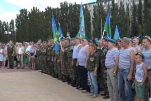 Голубые береты отметили 88-ую годовщину со дня основания воздушно-десантных войск