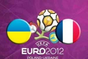 Украина - Франция. Уверенная победа французов.