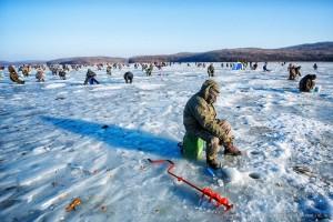 Сезон зимней рыбалки в разгаре
