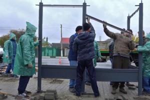 Установку новых остановочных павильонов начали в Старом Осколе