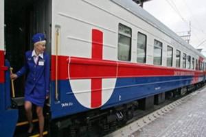 В четверг поезд «Здоровье» посетит село Лапыгино Старооскольского района