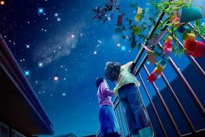 Ночь, небо и миллионы звезд...
