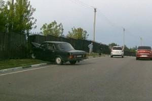 ДТП в районе Каплинского поста.