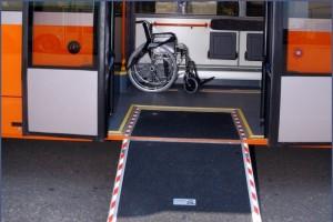 В Старом Осколе появятся автобусы переоборудованные для инвалидов-колясочников