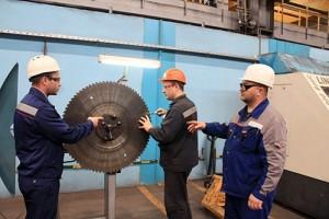 На ОЭМК начались испытания пильных дисков