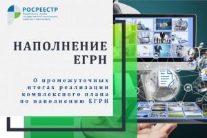 Росреестр о промежуточных итогах реализации комплексного плана по наполнению ЕГРН