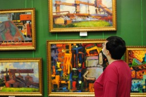 В выставочном зале «Родина» состоится открытие выставки «Цвет стали»