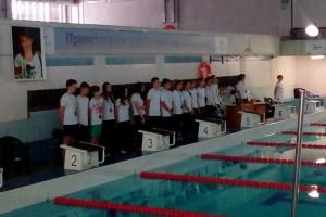 В Старом Осколе прошёл турнир по плаванию