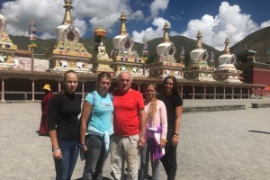 «Штурм» в горах Тибета