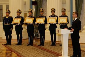 Дмитрий Медведев вручил грамоту о присвоении Старому Осколу звания «Город воинской славы»