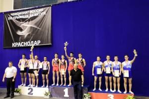 Старооскольцы - победители и призеры Всероссийских соревнований по прыжкам на батуте