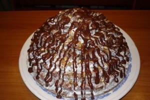 Торт «Вулкан»