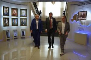 Губернатор Белгородской области посетил СОФ МГРИ