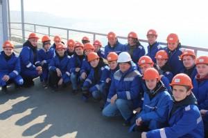 На Стойленском ГОКе побывали студенты базового учебного заведения