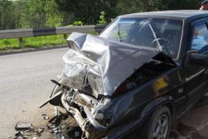 Страшная авария на микрорайоне Горняк 16.09.2012. Есть погибшие.
