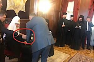 Патриарх Кирилл чуть было не выпил из той самой рюмки на встрече с УПЦ