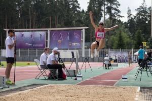 Оскольчанка Елена Соколова одержала четвёртую победу подряд в прыжках в длину