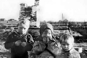 Детство, опаленное войной.