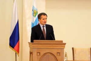 Врио губернатора области Вячеслава Гладкова представили управленческому активу региона