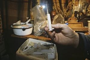 Белгородский наркоконтроль во время праздничных рейдов накрыл семь притонов